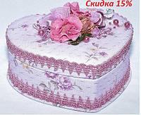 Шкатулка тканевая 734-6