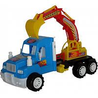 Машина Хеви Дьюти Экскаватор,инерционная машинка, игрушечная машинка, машинка-игрушка 15-002
