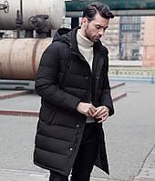 Мужской пуховик зимний (черный)