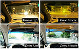 Антибліковий сонцезахисний козирок для автомобіля HD Vision Visor 2 в 1 SKU0000416, фото 4