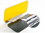 Антибліковий сонцезахисний козирок для автомобіля HD Vision Visor 2 в 1 SKU0000416, фото 8