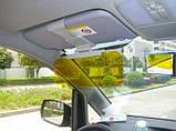 Антибліковий сонцезахисний козирок для автомобіля HD Vision Visor 2 в 1 SKU0000416, фото 9
