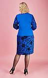 Женское яркое платье большого размера, фото 2