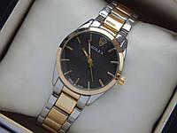 Женские (мужские) кварцевые наручные часы Rolex комбинированного цвета