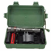 ФОНАРИК CREE XM-L T6 Elfeland 5000LM+ аккумулятор+2 зарядки+коробка