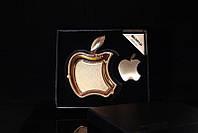 Набор с пепельницей Apple золотой.