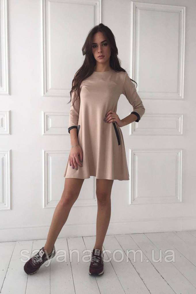Стильное женское платье, в расцветках