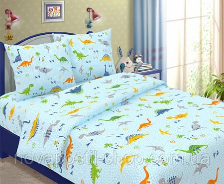 Детское постельное белье подростковое Дино