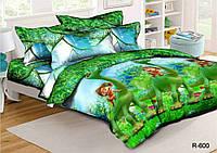 Подростковый комплект постельного белья Хороший динозавр, ранфорс