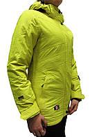 Женская горнолыжная куртка Snow Headquarter, желтая P. S, XL, 2XL