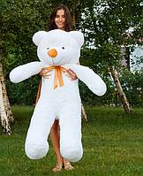 Плюшевый медведь Тедди 140 см Белый