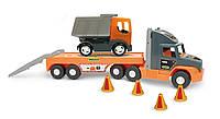 "Машина ""Super Tech Truck"" с грузовиком Тигрес //(36710)"