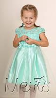Нарядное детское платье короткий рукав 98;104;110;116
