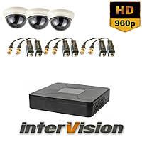 Комплект видеонаблюдения KIT-DOME 381 Intervision