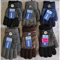 Двойные перчатки для мальчиков 3-6 лет и 7-10 лет