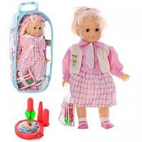 Кукла мягкотелая с аксессуарами в сумке