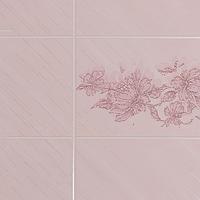 """Стеновая панель из ДВП """"Rosetta Lily"""" 1220 х 2440 х 3 мм"""