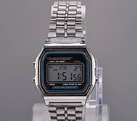 Мужские часы Casio Classic retro silver