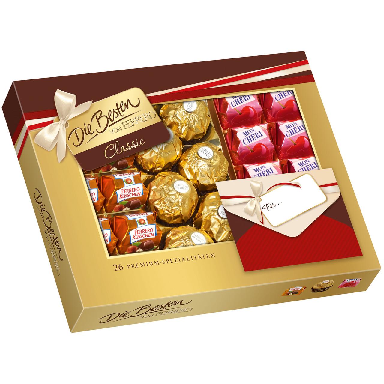 Подарочный набор конфет Die Besten von Ferrero Classic (ферреро), 269 гр.
