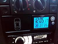 Автомобильные часы,термометр, вольтметр 7048V ВАЗ 2110