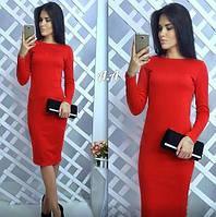 Платье длинное в ассортименте трикотаж Vanessa