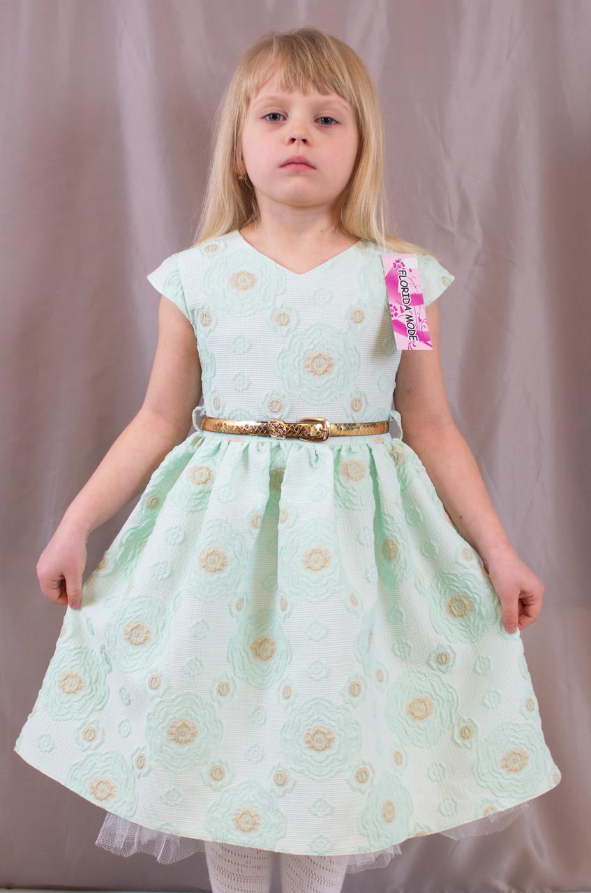 0907aac2157 Детское изумительно красивое выпускное платье c оборкой из фатина ...