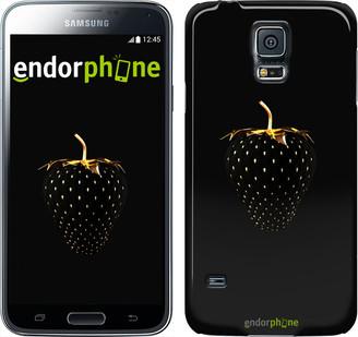 """Чехол на Samsung Galaxy S5 Active G870 Черная клубника """"3585u-364"""""""