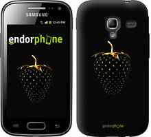 "Чехол на Samsung Galaxy Ace 2 I8160 Черная клубника ""3585u-250"""