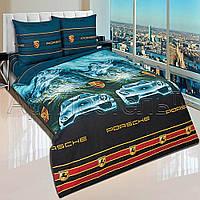 Подростковый комплект постельного белья Порше, поплин, фото 1