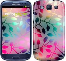 "Чехол на Samsung Galaxy S3 Duos I9300i Листья ""2235c-50"""