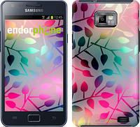 """Чехол на Samsung Galaxy S2 i9100 Листья """"2235c-14"""""""