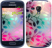 """Чехол на Samsung Galaxy S3 mini Листья """"2235c-31"""""""