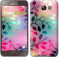 """Чехол на Samsung Galaxy E7 E700H Листья """"2235u-139"""""""