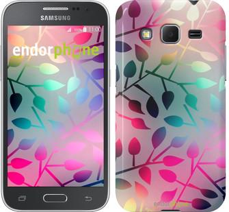 "Чехол на Samsung Galaxy Core Prime VE G361H Листья ""2235c-211"""