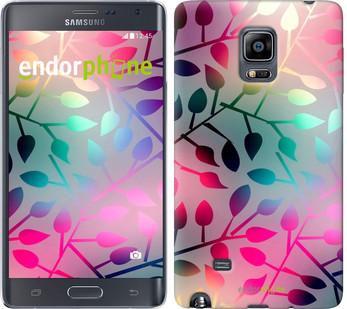 "Чехол на Samsung Note Edge SM-N915 Листья ""2235u-128"""