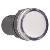 Лампа AD-22DS LED-матрица d22мм белый 12В  AC/DC ИЭК