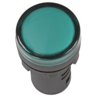 Лампа AD-22DS LED-матрица d22мм зеленый 12В AC/DC ИЭК