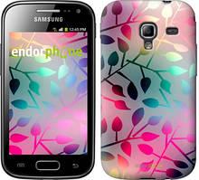 """Чехол на Samsung Galaxy Ace 2 I8160 Листья """"2235u-250"""""""