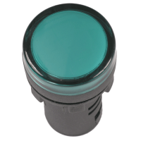 Лампа AD16DS LED-матрица d16мм зеленый 230В AC ИЭК