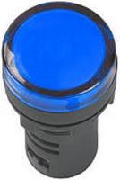 Лампа AD16DS LED-матрица d16мм синий 12В AC/DC ИЭК