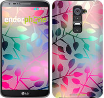 """Чехол на LG G2 mini D618 Листья """"2235u-304"""""""