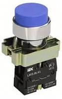 Кнопка управления LAY5-BL61 без подсветки синяя 1з ИЭК