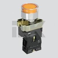 Кнопка управления LAY5-BW3561 с подсветкой желтый 1з ИЭК