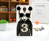 Силиконовый чехол накладка для Meizu M3e с картинкой Панда