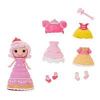 Набор с куклой лалалупси Печенюшка Сладкоежка Mini Lalaloopsy Style 'N' Swap Doll - Princess Crumbs