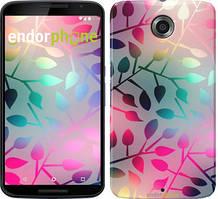 """Чехол на Motorola Moto X2 Листья """"2235u-372"""""""
