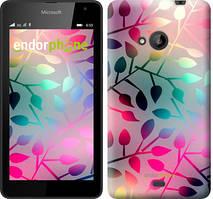 "Чехол на Microsoft Lumia 535 Листья ""2235u-130"""