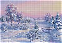 """Схема для вышивания """"Гостья Зима"""""""