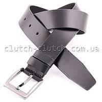 Ремень для джинсов LMi 40 мм черный матовый