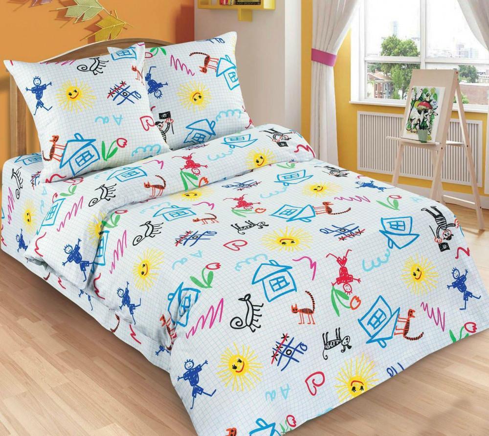 Подростковый комплект постельного белья Переменка, поплин